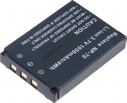 Батерия за фотоапарат Casio NP-70, 1050 mAh