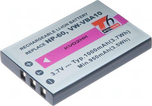 Батерия за фотоапарат Fuji NP-60, KLIC-5000, NP-30, LI-20B, A1812A, L1812A, L1812B, 1000 mAh