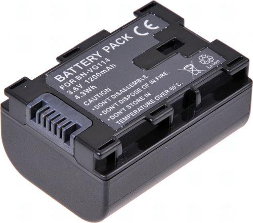Батерия за видеокамера JVC BN-VG107, BN-VG114, BN-VG107E, BN-VG107U, BN-VG114E, BN-VG114U, BN-VG108E, BN-VG108U, 1200 mah
