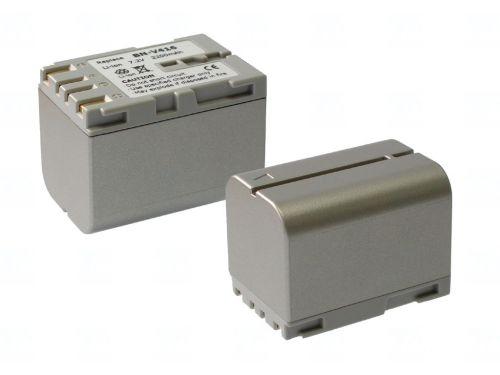 Батерия за видеокамера JVC BN-V416, Цвят - шампанско, 2200 mAh