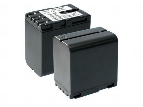 Батерия за видеокамера JVC BN-V428, Сива, 3600 mAh