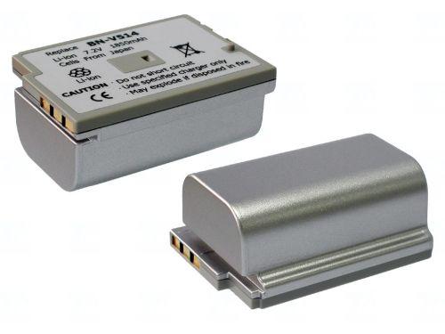 Батерия за видеокамера JVC BN-V514, Сребриста, 2200 mAh
