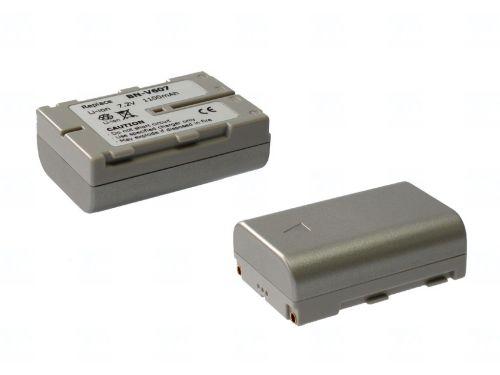 Батерия за видеокамера JVC BN-V607, Цвят - шампанско, 1100 mAh