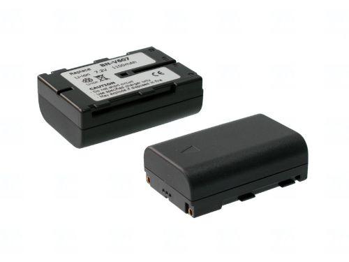 Батерия за видеокамера JVC BN-V607, Сива, 1100 mAh