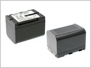 Батерия за видеокамера JVC BN-V615, Сива, 2100 mAh