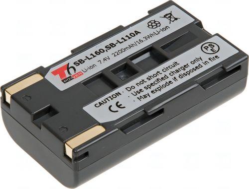 Батерия за видеокамера Samsung SB-L160, SB-L110A, Сива, 2200 mAh