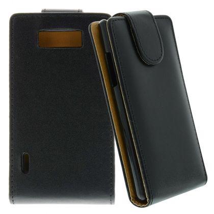 FLIP калъф за LG P700 Optimus L7 Black