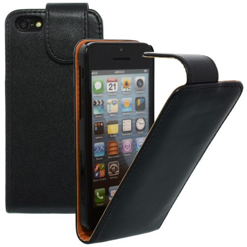 Flip Case for Apple iPhone 5c Black