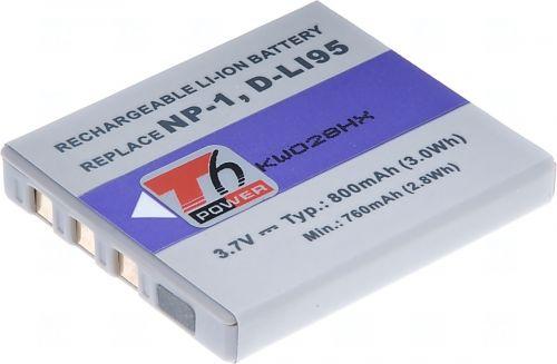 Батерия за фотоапарат Kyocera NP-1, SLB-0837, 800 mAh
