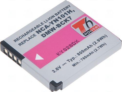 Батерия за фотоапарат Panasonic DMW-BCK7, NCA-YN101G, 800 mAh