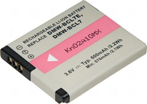 Батерия за фотоапарат Panasonic DMW-BCL7, DMW-BCL7E, 600 mAh