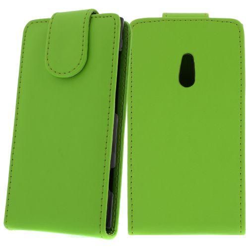 FLIP калъф за Nokia Lumia 800 Green (Nr 30)