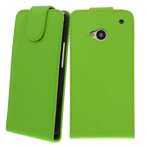 FLIP калъф за HTC One M7 Green (Nr 30)
