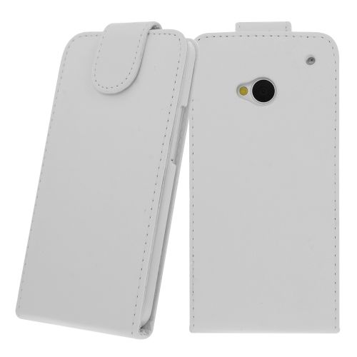 FLIP калъф за HTC One M7 White (Nr 15)