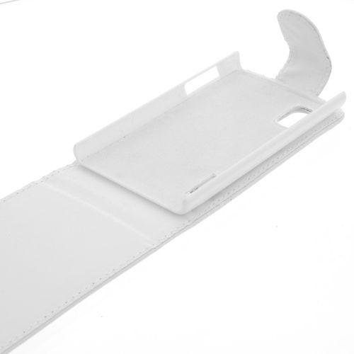 FLIP калъф за LG E610 Optimus L5 White (Nr 15)
