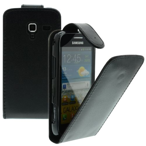 FLIP калъф за Samsung Galaxy Ace 2 GT-i8160 Black