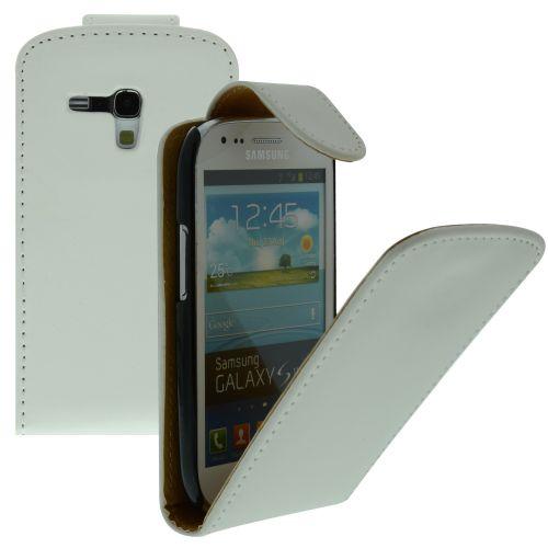 FLIP калъф за Samsung Galaxy S3 mini GT-i8190 White (Nr 15)