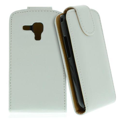 FLIP калъф за Samsung Galaxy S Duos GT-S7562 White (Nr 15)