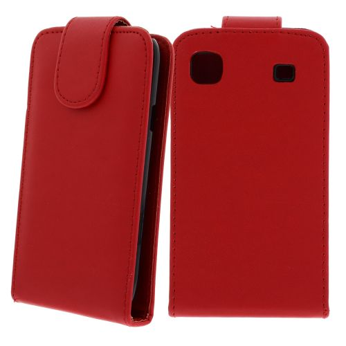FLIP калъф за Samsung Galaxy S1 i9000 Red (Nr 7)