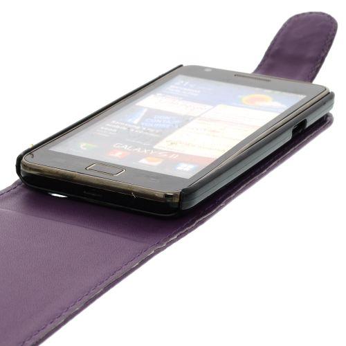 FLIP калъф за Samsung Galaxy S2 i9100 Purple (Nr 33)