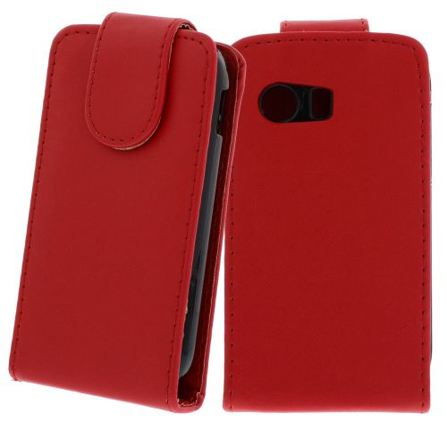 FLIP калъф за Samsung Galaxy Y GT-S5360 Red (Nr 7)