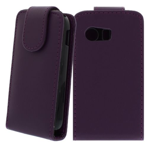 FLIP калъф за Samsung Galaxy Y GT-S5360 Purple (Nr 33)