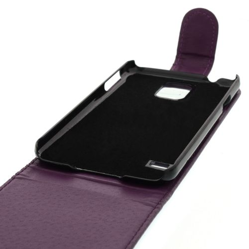 FLIP калъф за Samsung Galaxy S5 Purple (Nr 33)