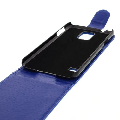 FLIP калъф за Samsung Galaxy S5 Dark Blue (Nr 11)