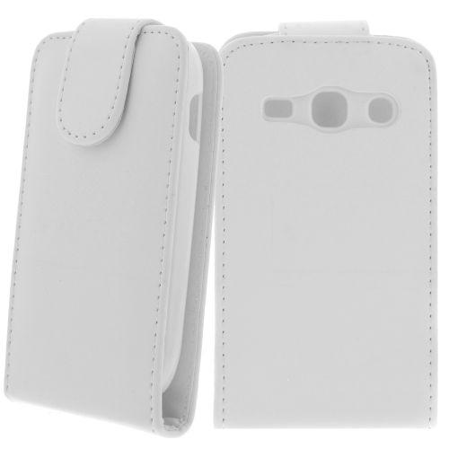 FLIP калъф за Samsung Galaxy Fame S6810 White (Nr 15)