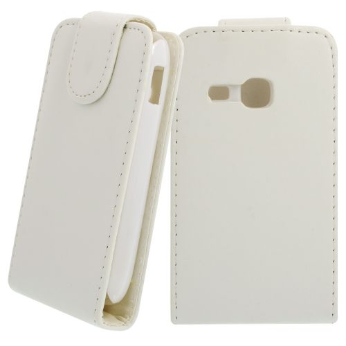 FLIP калъф за Samsung Galaxy Young S6310 White(Nr 15)