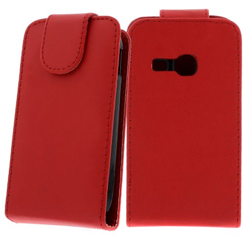 FLIP калъф за Samsung Galaxy Young Duos S6312 Red (Nr 7)