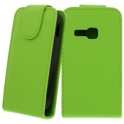 FLIP калъф за Samsung Galaxy Young Duos S6312 Green(Nr 30)