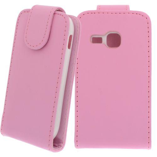 FLIP калъф за Samsung Galaxy Mini 2 GT-S6500 Pink (Nr 13)