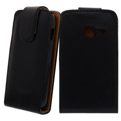 FLIP калъф за Samsung Galaxy Ace Duos GT-S6802 Black