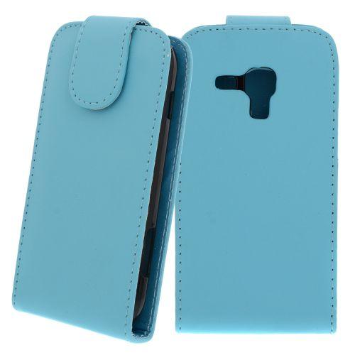FLIP калъф за Samsung Galaxy S Duos GT-S7562 Hell Blue (Nr 19)