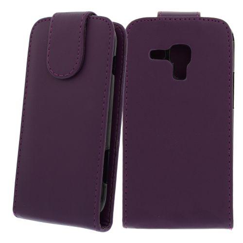 FLIP калъф за Samsung Galaxy S Duos GT-S7562 Purple (Nr 33)