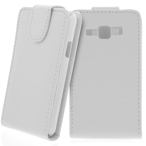 FLIP калъф за Samsung Galaxy Xcover GT-S5690 White (Nr 15)