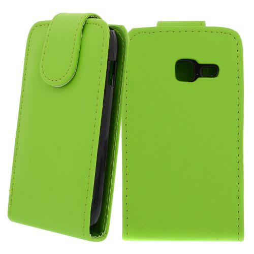 FLIP калъф за Samsung Galaxy Y Duos GT-S6102 Green (Nr 30)