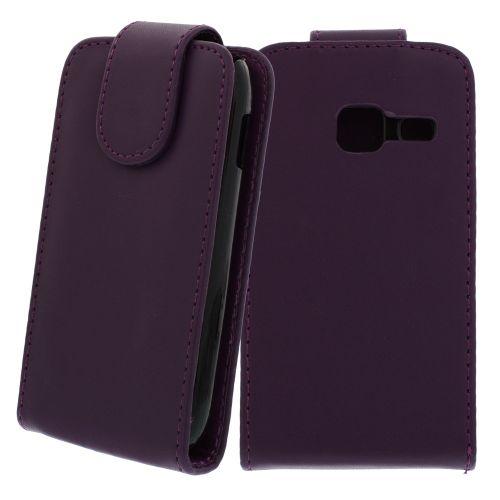 FLIP калъф за Samsung Galaxy Y Duos GT-S6102 Purple (Nr 33)