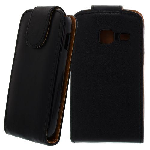 FLIP калъф за Samsung Galaxy Y Duos GT-S6102 Black
