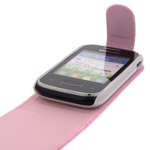 FLIP калъф за Samsung Galaxy Pocket GT-S5300 Pink (Nr 13)