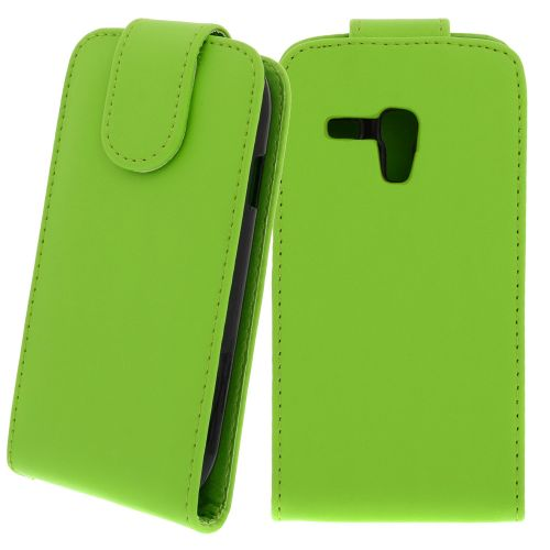 FLIP калъф за Samsung Galaxy S3 mini GT-i8190 Green (Nr 30)