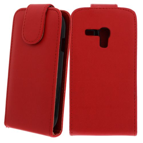 FLIP калъф за Samsung Galaxy S3 mini GT-i8190 Red (Nr 7)