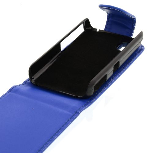 FLIP калъф за Samsung S5230 Star Dark Blue (Nr 11)