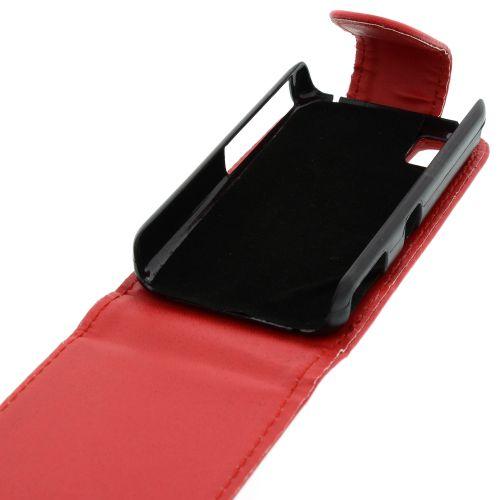 FLIP калъф за Samsung S5230 Star Red (Nr 7)