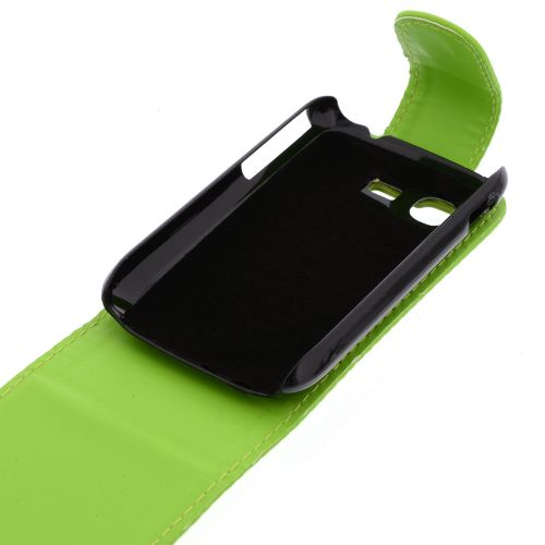 FLIP калъф за Samsung Galaxy Pocket GT-S5300 Green (Nr 30)