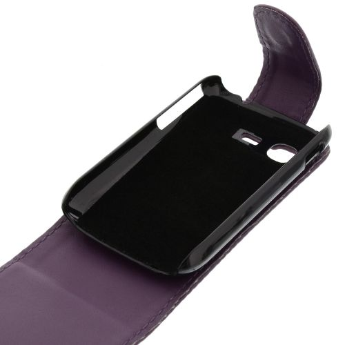 FLIP калъф за Samsung Galaxy Pocket GT-S5300 Purple (Nr 33)