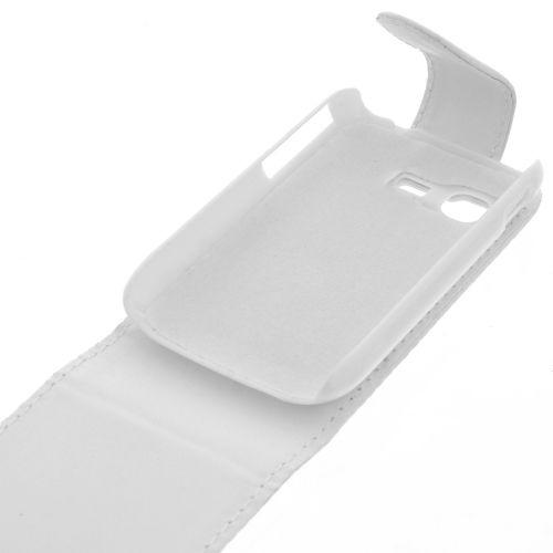 FLIP калъф за Samsung Galaxy Pocket GT-S5300 White (Nr 15)