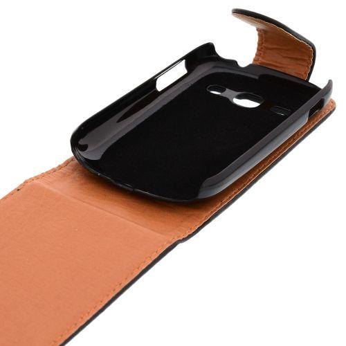 FLIP калъф за Samsung Galaxy Fame S6810 Black