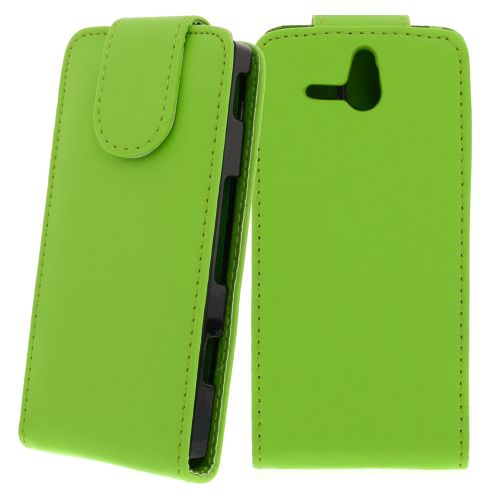 FLIP калъф за Sony Xperia U Green (Nr 30)